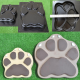 Beast's Paws Dog Cat Stepping Stone cement Mold Concrete